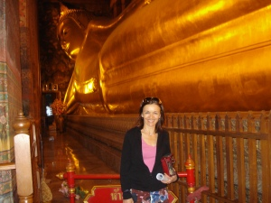 During my trip to Bangkok, I visited the beautiful Buddha.