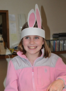 These Easter Bunny ears are a fun way to celebrate! Here's Brooke having fun in Tokyo.
